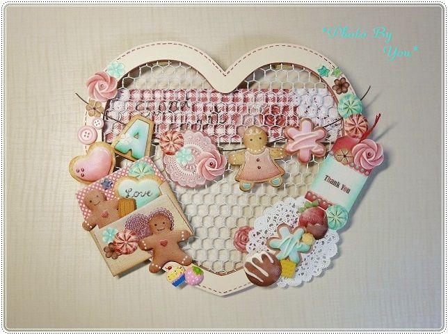 『sweet heart wreath』