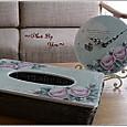 バラの時計&ティシュBOX