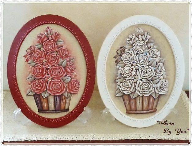 『白薔薇のツリー』&『赤薔薇のツリー』