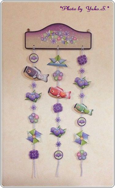 ナチュデコミニブック2 「こどもの日の吊るし飾り」