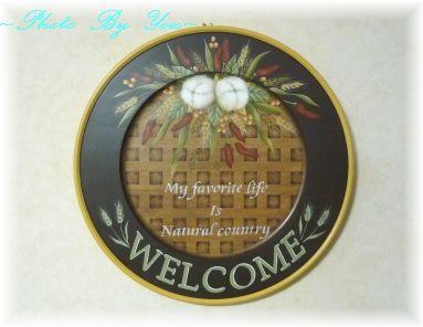ナチュラルブーケの丸皿
