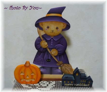 """""""ハロウィン"""" Witch Bear"""