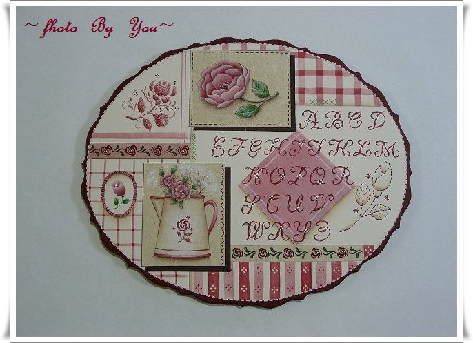 ~Rose  &  Alphabets  Sample(赤バージョン)~