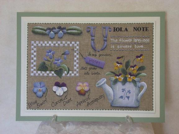 """""""ノートシリーズ""""~Viola Note"""