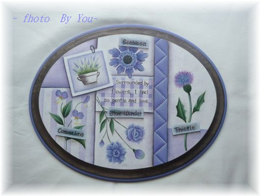 Flower  Harmony  Series ~『パープル&パープル』~