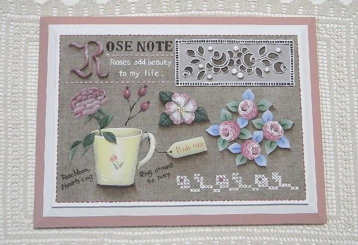 """""""ノートシリーズ""""~Rose Note"""